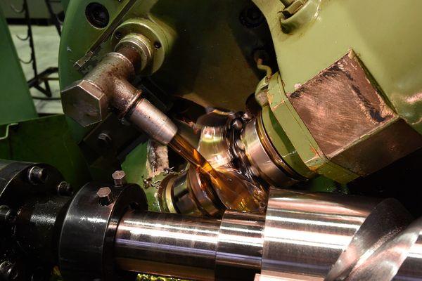Процесс производства винта компрессора