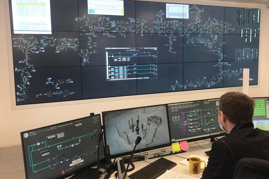 Пункт управления системы линейной телемеханики