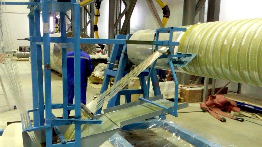 Изготовление трубы методом филаментной намотки