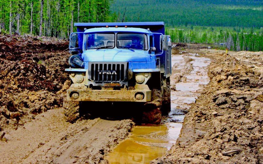 грузовик Урал