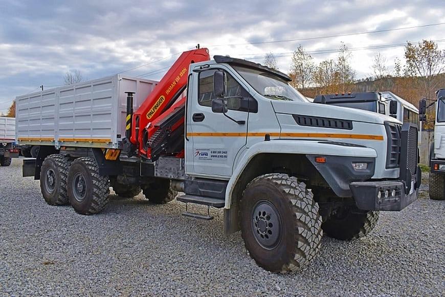 Специальные автомобили «Урал» будут трудиться в подразделениях «Роскосмоса»