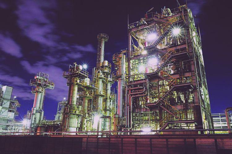 Объект применения решетчатых настилов – газоперерабатывающий завод