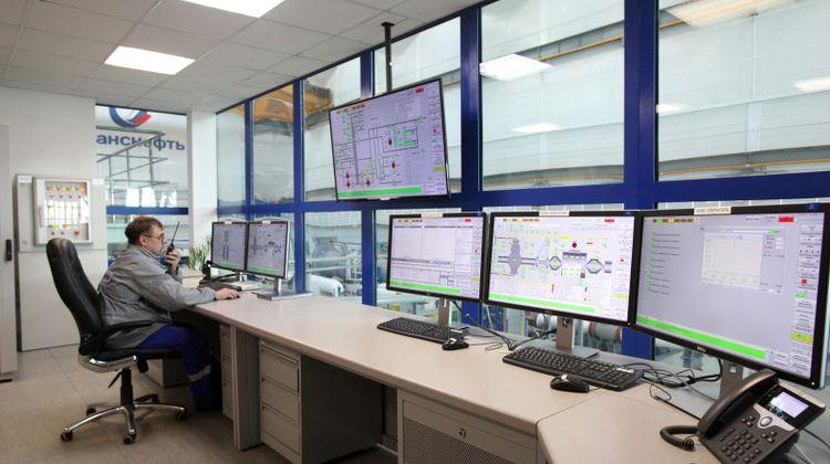 Центральный пульт управления ИЦ