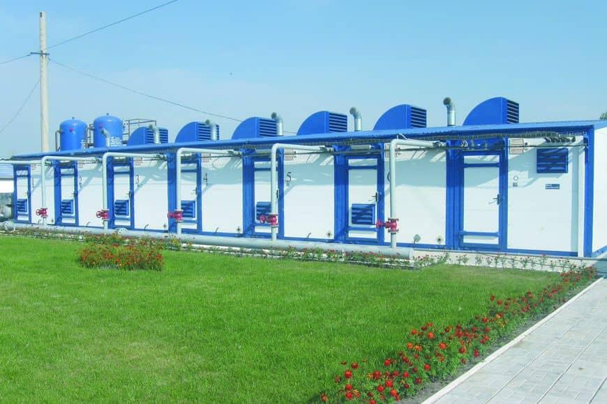 Блочно-модульная станция ЧКЗ