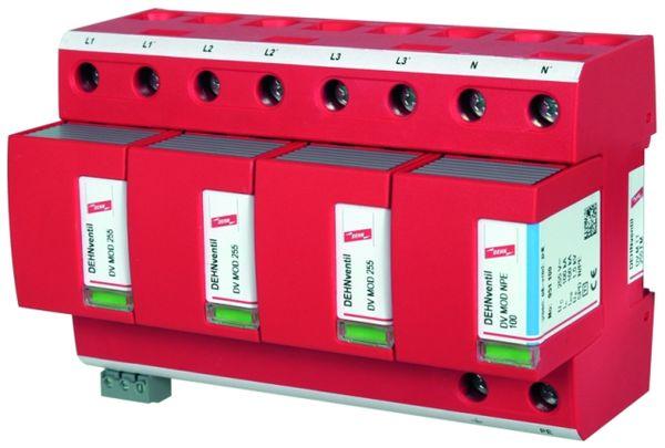 Комбинированное УЗИП DEHNventil® modular для пятипроводной сети TN-S