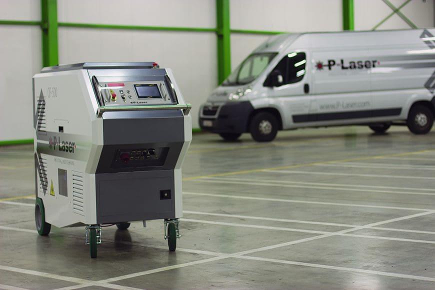 Система лазерной очистки