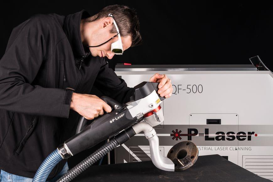 Процесс лазерной очистки