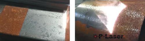 Снятие ржавчины с поверхности металла