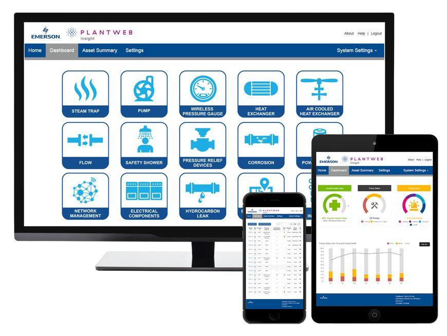 Программный пакет для анализа состояния активов предприятия Plantweb Insight