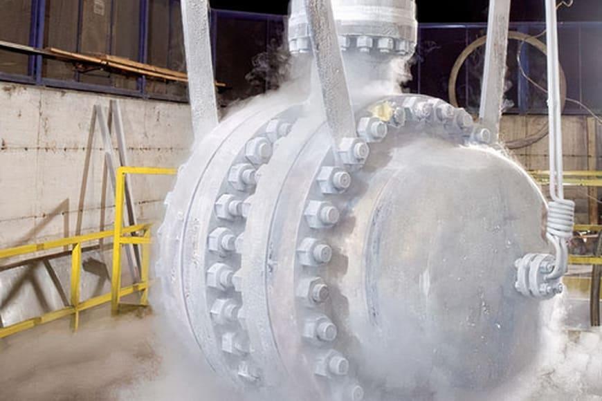 Затворы Vanessa компании Эмерсон успешно эксплуатируются на запущенном производстве ОАО «Ямал СПГ»