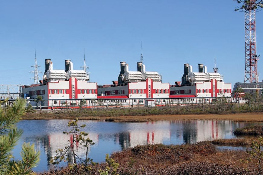 ГТЭС Ватьеганского месторождения работает на попутном газе