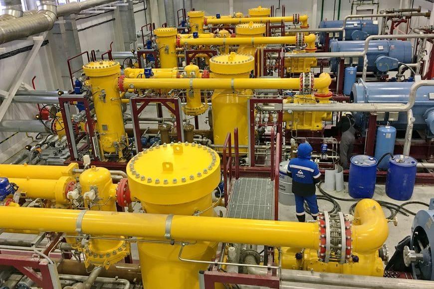 Установка подготовки топливного газа для ГТЭС на Мессояхе