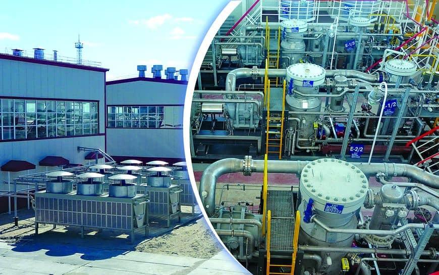 Компрессорная станция снабжает попутным газом турбины ГТЭС-36 на Северном Лабатьюгане