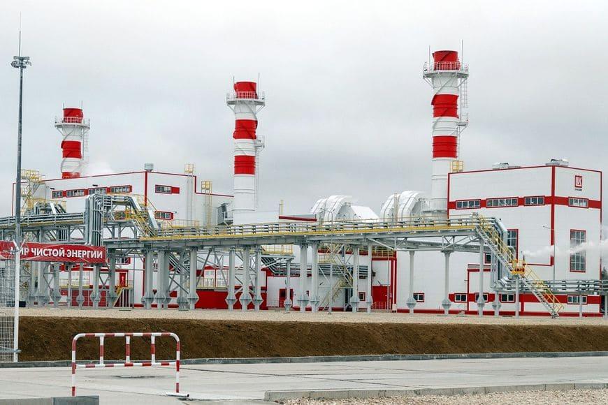 Энергоцентр «Ярега». В качестве топлива для ГТУ-ТЭЦ используется природный газ