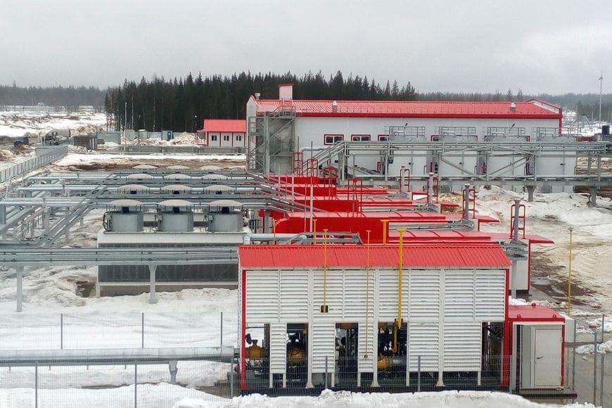 Система газоподготовки «ЭНЕРГАЗ» на Ярегском нефтетитановом месторождении
