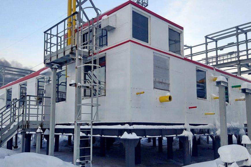 Модуль подготовки топливного газа №1 для объектов УКПГиК на Восточном Уренгое