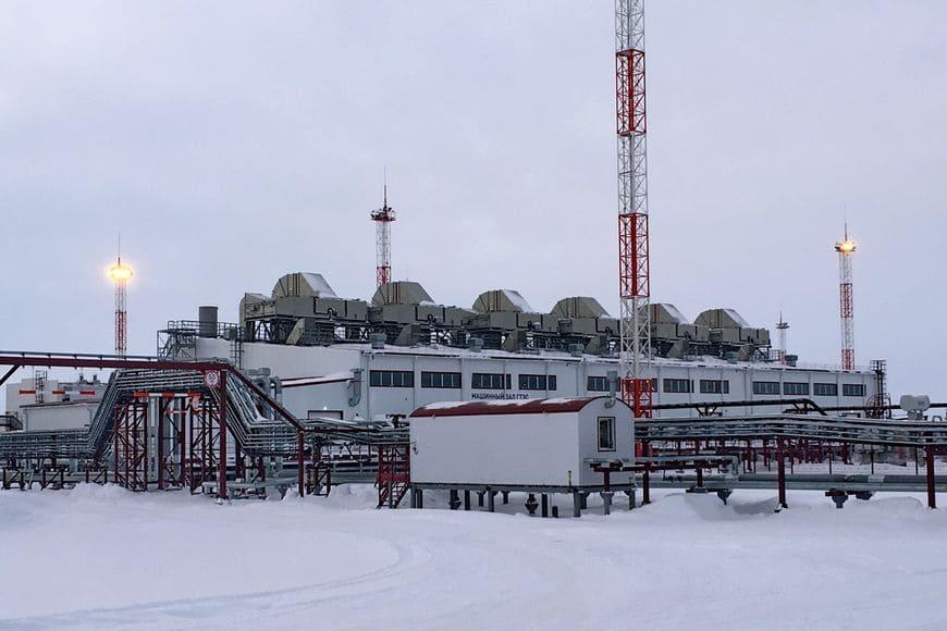Самая северная материковая ГТЭС – ВосточноМессояхская – работает на низконапорном попутном газе