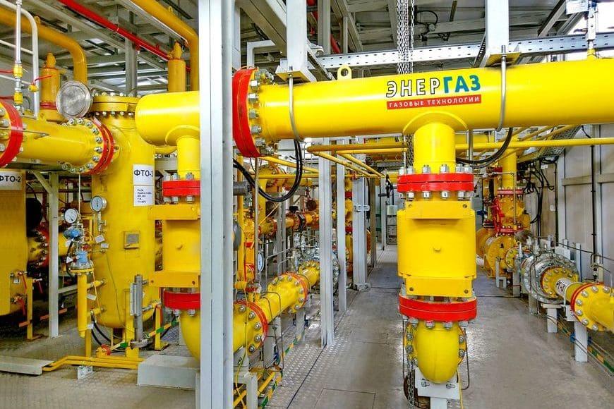 Технологические отсеки пункта подготовки газа «ЭНЕРГАЗ»