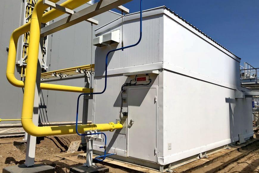 Блочный пункт очистки газа для ГТУ-ТЭС в Елабуге - компактная установка в базовой комплектации