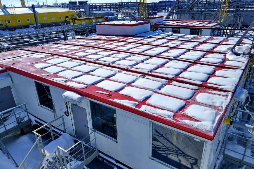 Многоблочная установка подготовки топливного газа для объектов УКПГиК на Восточном Уренгое