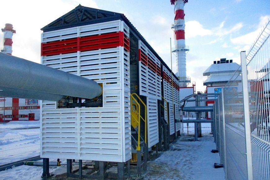 Блок подготовки попутного газа для ГТУ-ТЭЦ Усинского месторождения
