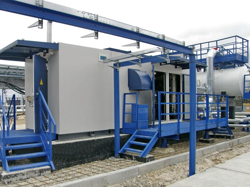 Вакуумная компрессорная установка «ЭНЕРГАЗ» на ДНС-1 Вынгапуровского месторождения (Газпромнефть-ННГ)