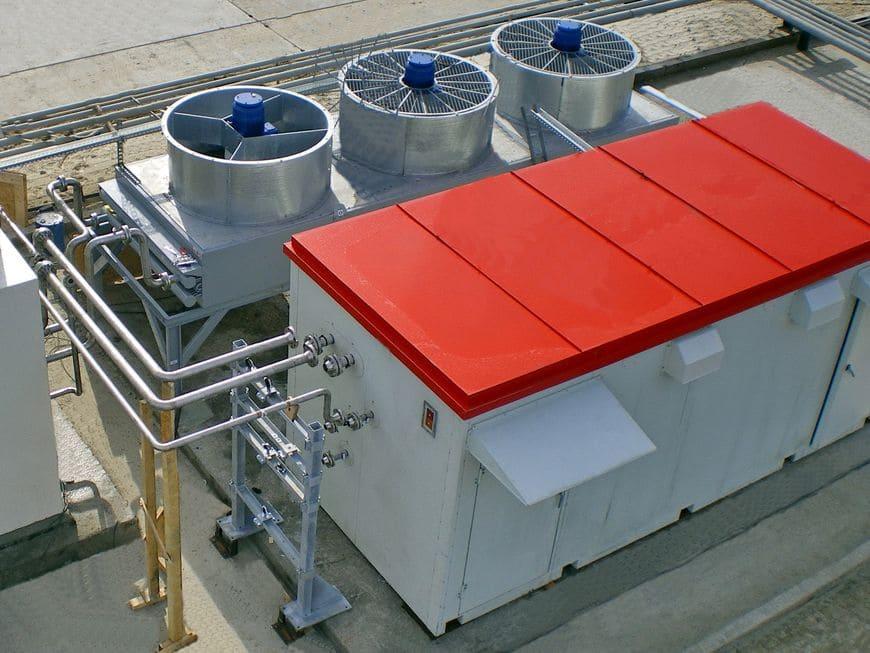 Адсорбционный осушитель газа на ЦПС Западно-Могутлорского месторождения (РуссНефть)