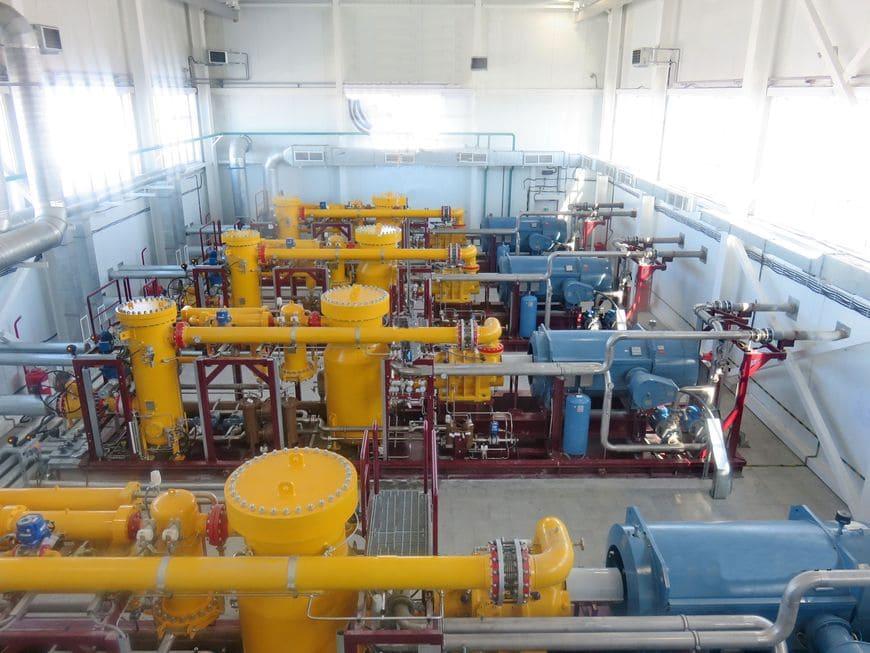 Компрессорная станция ангарного типа для ГТЭС Восточно-Мессояхского месторождения (Мессояханефтегаз)