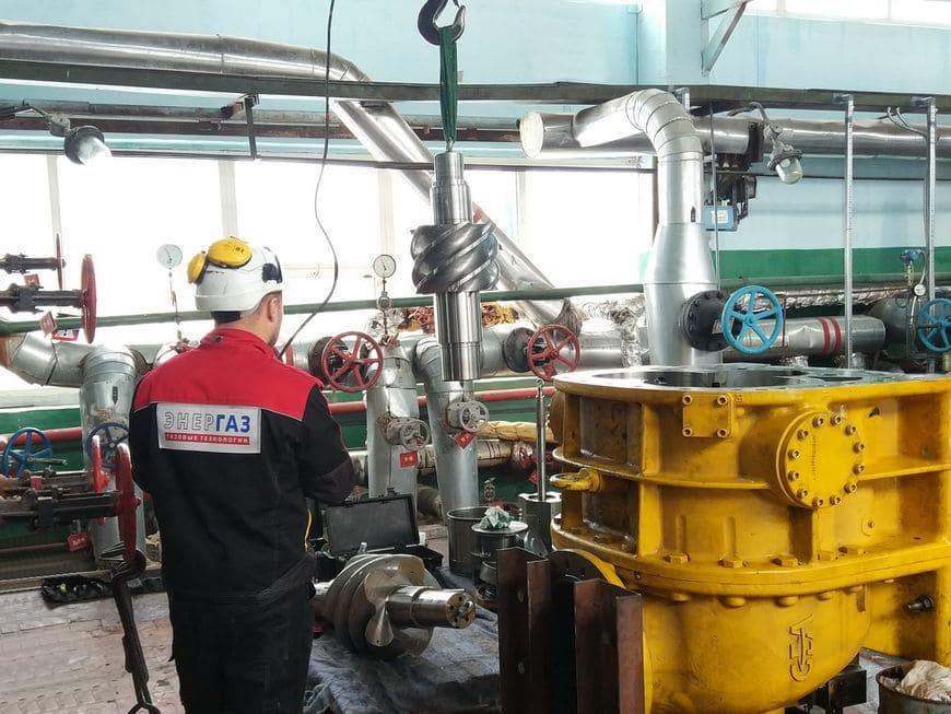Капремонт газового компрессора на Южно-Сахалинской ТЭЦ-1. Работы выполнены в рамках Программы долгосрочного сервиса