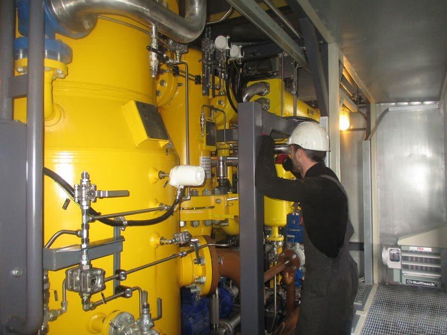 Подразделение «СервисЭНЕРГАЗ-Ухта» обеспечивает бесперебойную эксплуатацию систем газоподготовки на энергоцентрах ООО «ЛУКОЙЛ-Коми