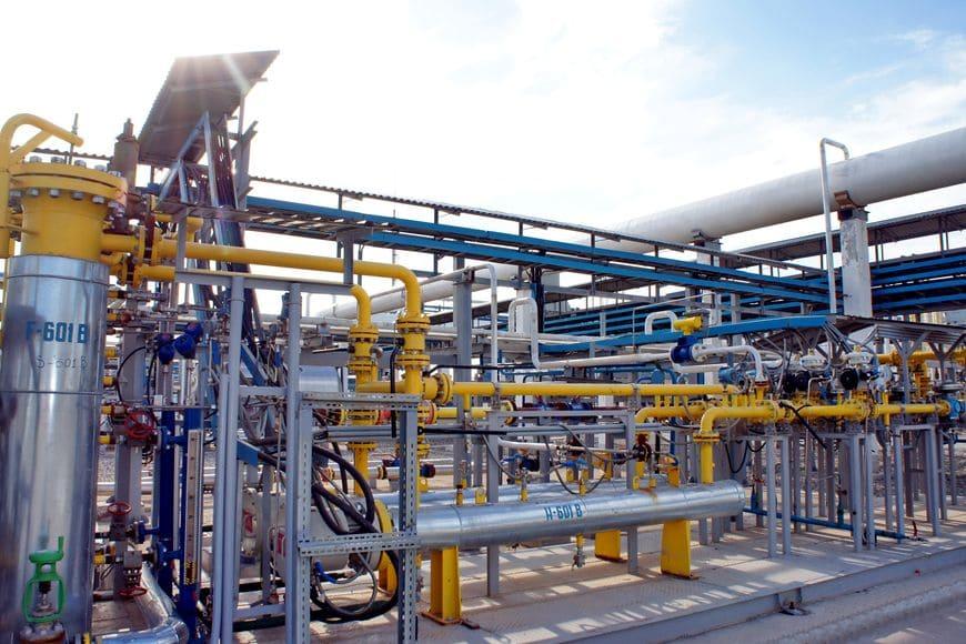 Система газоподготовки для ДКС «Алан» (Узбекистан). Здесь применены электрические подогреватели газа