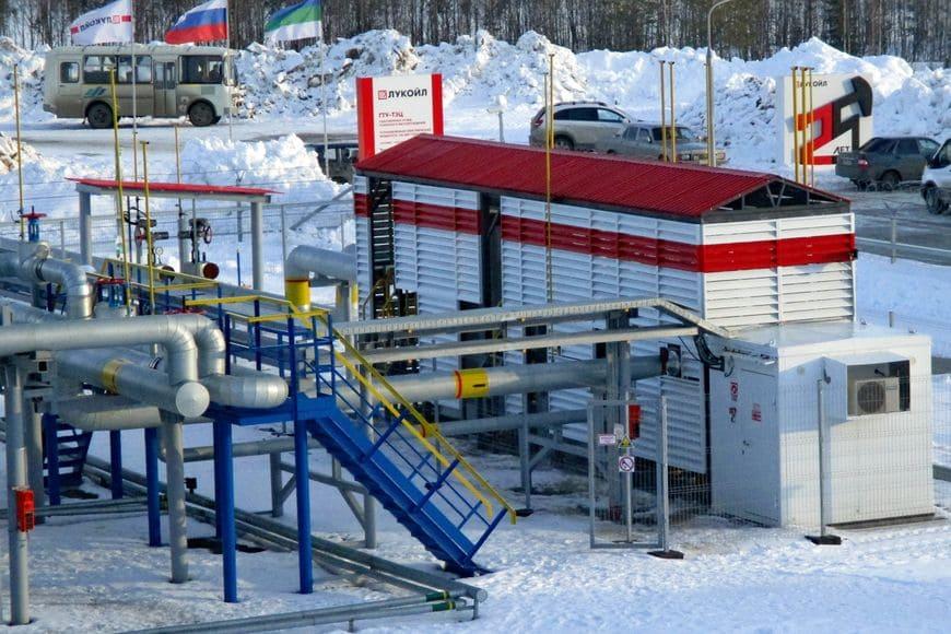 Блок подготовки попутного газа для ГТУ-ТЭЦ Усинского месторождения ЛУКОЙЛ-Коми