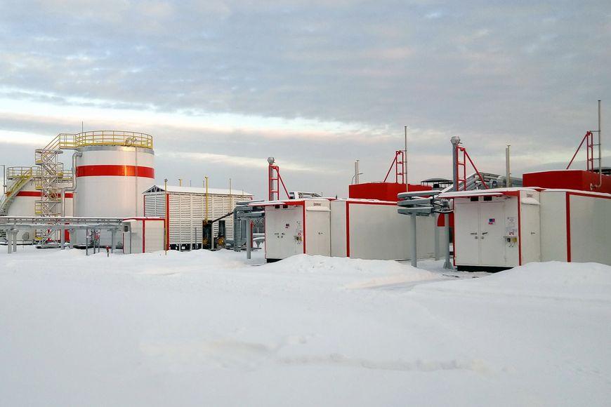 Система газоподготовки «ЭНЕРГАЗ» для энергоцентра «Ярега» ЛУКОЙЛ-Коми