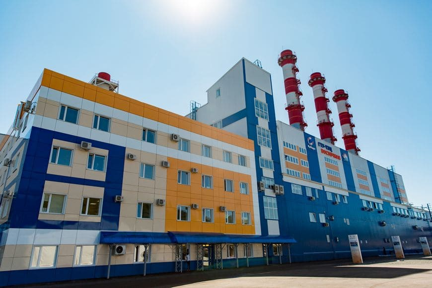 ГТУ-ТЭЦ «Восточная» во Владивостоке
