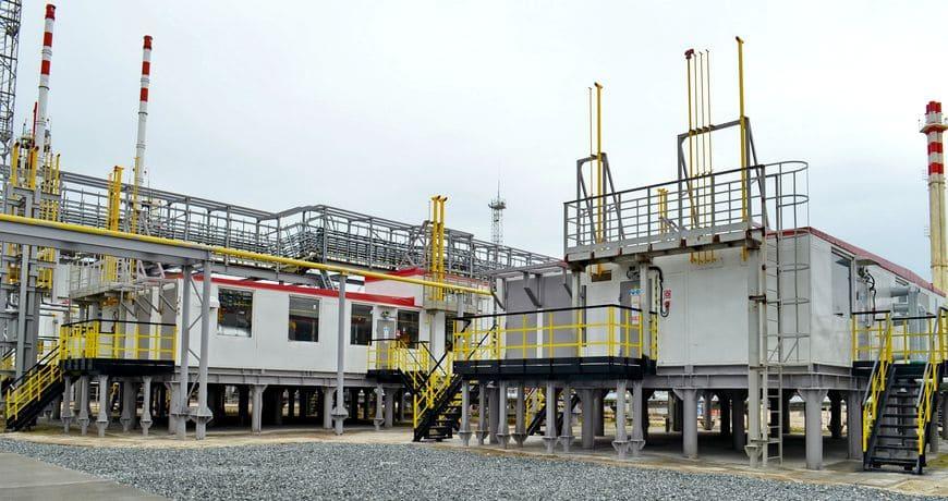 Установка подготовки топливного газа для ГТЭС и объектов УКПГиК на Восточном Уренгое