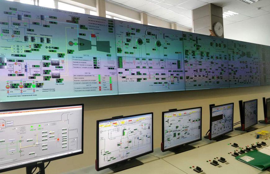 Управление обеими ДКС осуществляется с верхнего уровня – из диспетчерской ПГУ