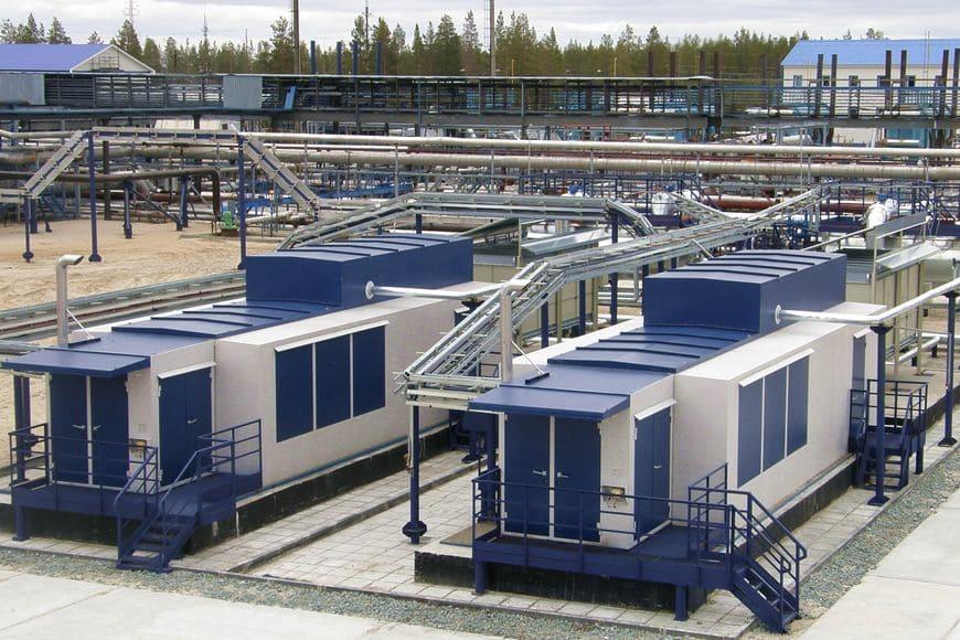 Вынгапуровское месторождение (Газпром нефть). Вакуумные компрессорные установки «ЭНЕРГАЗ», спроектированные для низконапорного ПНГ (0,001 МПа)