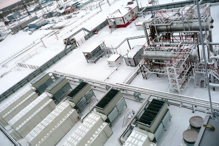 Алехинское месторождение (Сургутнефтегаз). На компрессорную станцию низких ступеней сепарации поступает смешанный ПНГ из нескольких источников