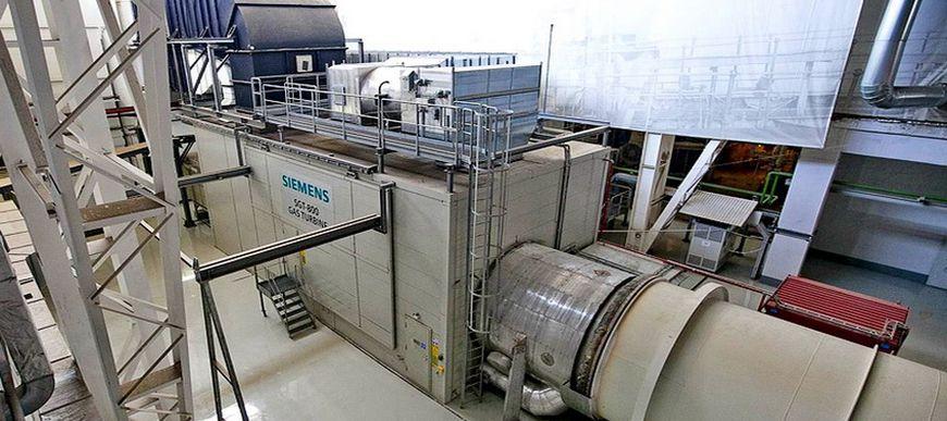 Газотурбинная установка Siemens SGT-800 по имени Солбритт