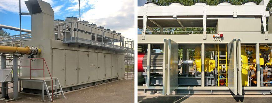 Дожимная компрессорная станция топливного газа «ЭНЕРГАЗ»
