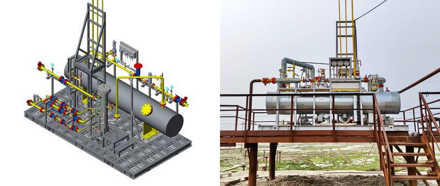 Модуль подготовки топливного газа №1