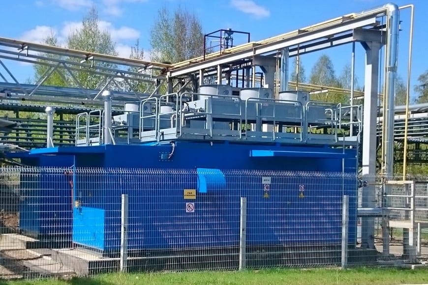 Компрессорная станция топливного газа для ГТУ Томской ТЭЦ-1 приведена к современным стандартам эксплуатации