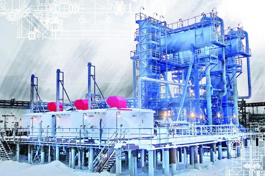ЭНЕРГАЗ достиг отметки в 300 поставленных технологических установок для подготовки и компримирования газа