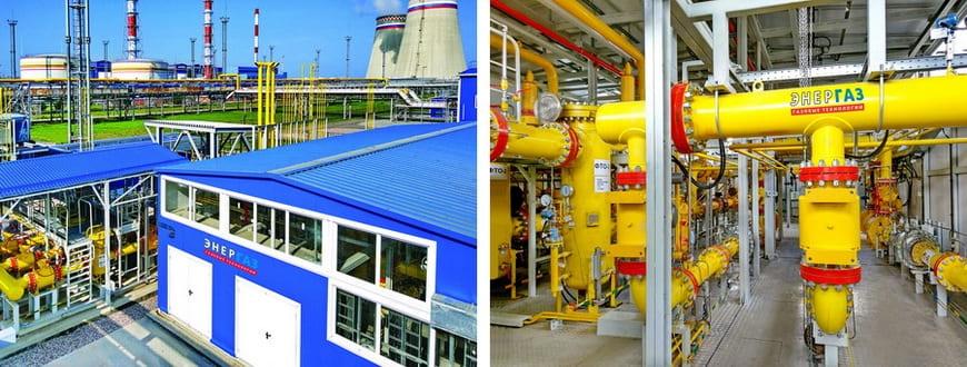 Многоблочный пункт подготовки газа «ЭНЕРГАЗ» для турбин Прегольской ТЭС в Калининграде