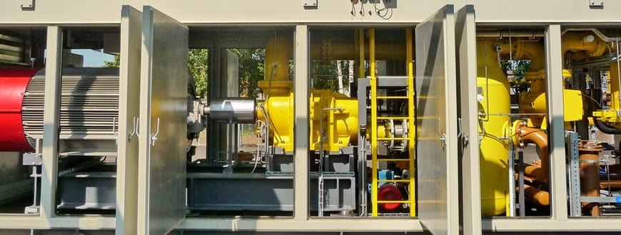 ДКС топливного газа на базе винтового компрессора