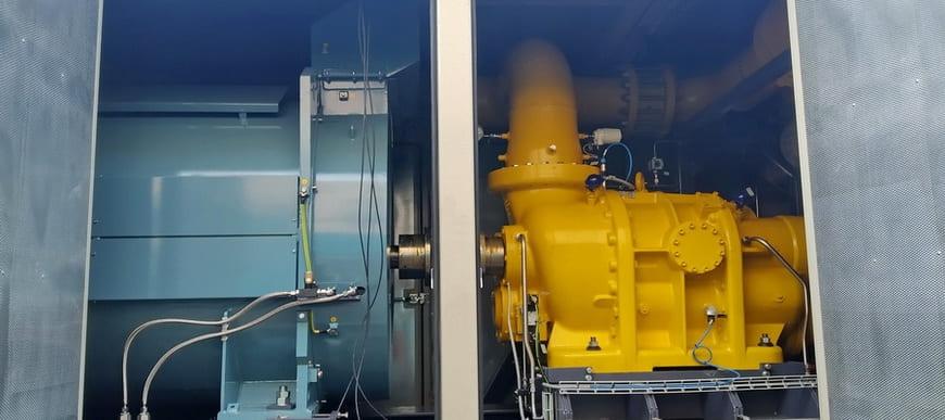 Основа ДКС – винтовой маслозаполненный компрессор с электрическим приводом