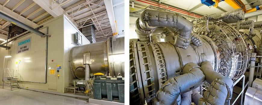 Газотурбинная установка Siemens SGT-800
