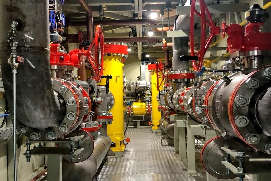 ЭНЕРГАЗ изготовил и испытал газоприемную станцию для пиковой ГТЭС Березовской ГРЭС