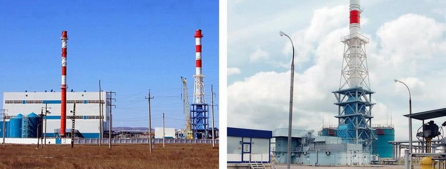 Газотурбинная электростанция ГТЭС-16ПА – ГТЭС «Сибай»