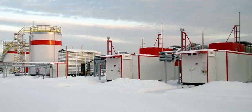 Система газоподготовки и газоснабжения «ЭНЕРГАЗ» для энергоцентра «Ярега»